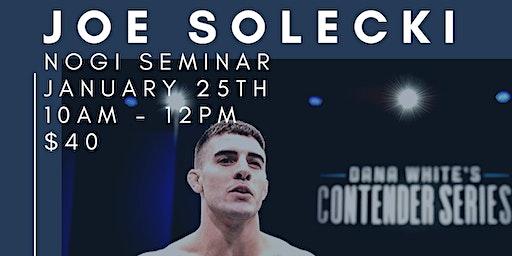 Joe Solecki Nogi Seminar