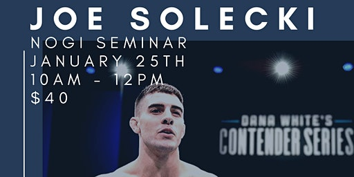 Copy of Joe Solecki Nogi Seminar