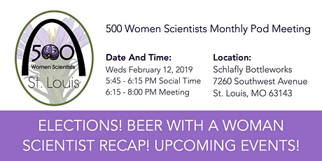 500 Women Scientists STL Pod Meeting billets
