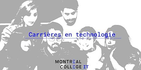 Développement de carrière technologique - Séance d'information billets