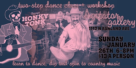 Two-Step Dance Class & Workshop at Agitator Gallery tickets