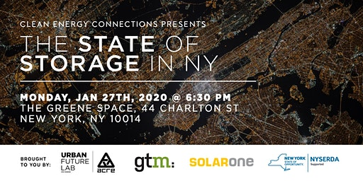 Clean Energy Connections: the State of Storage in NY