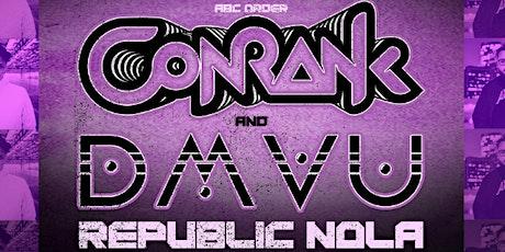 Conrank & DMVU tickets