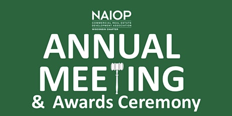 2020 Annual Meeting and Awards Ceremony tickets