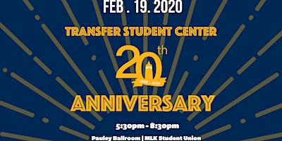 Transfer Student Center 20th Anniversary