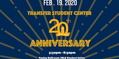 Transfer Student Center 20th Anniversary  tickets