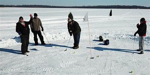 Trappers Bar and Grill 2020 Annual Ice Golf Tournament