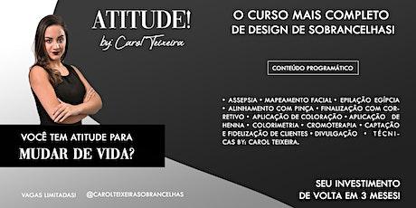 ATITUDE! by: Carol Teixeira ingressos