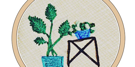 Beginner Botanical Embroidery Workshop tickets