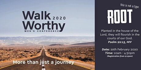 Walkworthy 2020 Mens Christian Conference tickets