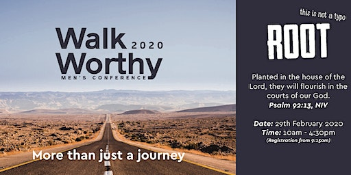 Walkworthy 2020 Mens Christian Conference