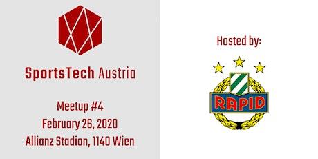 SportsTech Austria Meetup #4 tickets