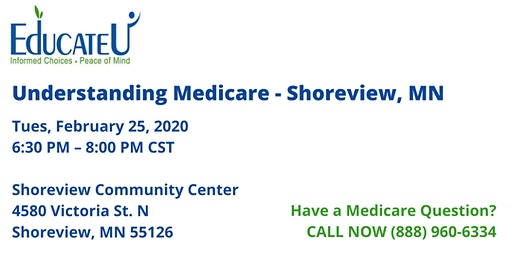 Shoreview 2/25/20  - Understanding Medicare Workshop