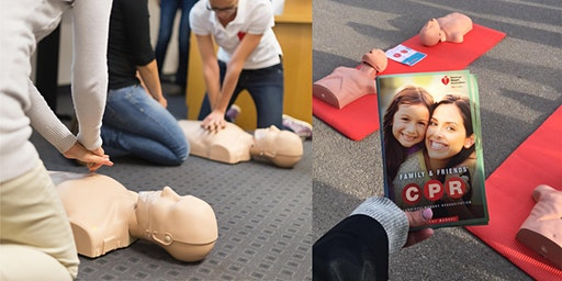 Family & Friends® CPR Course: Learn how to SAVE a life