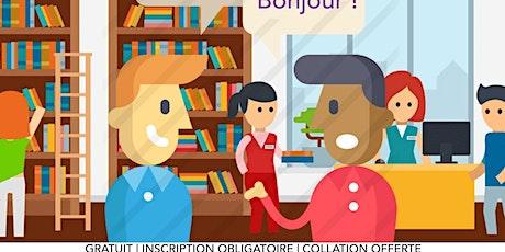 Cercle de conversation bilingue/Bilingual conversation circle billets
