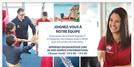 Soirée Recrutement - Expedia CentredeCroisieres Delson billets