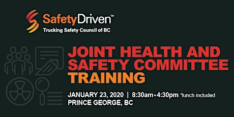 Joint Health & Safety Committee (JHSC) Training tickets