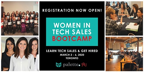 Women in Tech Sales Boot Camp - March 2020 tickets