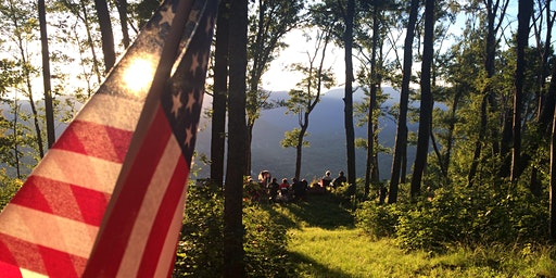 Independence Day Sunset Fireworks Hike