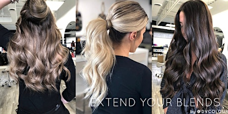 Extend Your Blends - Beaded Weft Extensions: @DVColour tickets