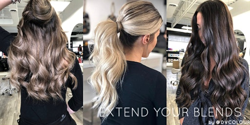 Extend Your Blends - Beaded Weft Extensions: @DVColour
