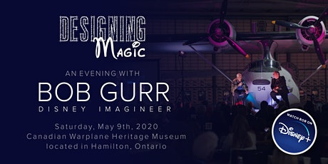 Designing Magic - Disney and Beyond,  An evening with Disney Legend / Imagineer Bob Gurr tickets