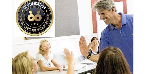 HYPNOBIZ CERTIFIED INSTRUCTOR  (HCI) Train the Trainer Course