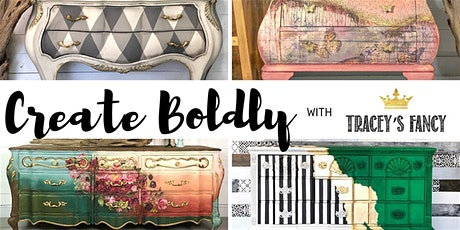 Create Boldy with Tracey From Tracey's Fancy presented by Salvaged Soul tickets