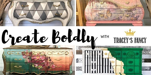 Create Boldy with Tracey From Tracey's Fancy presented by Salvaged Soul