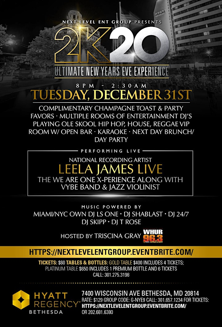 Ultimate New Years Day Brunch  // Day Party // 11A-5P DAILY GRILL BETHESDA image