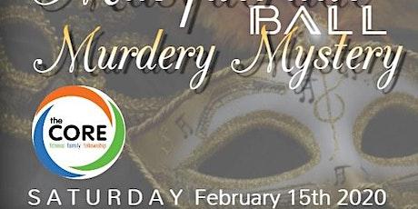 Murder Mystery Masquerade tickets