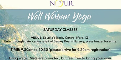 Well Woman Yoga tickets
