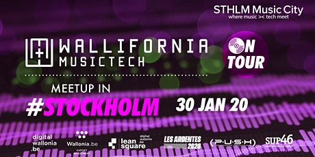 Wallifornia MusicTech On Tour #2 - Stockholm - With STHLM Music City tickets