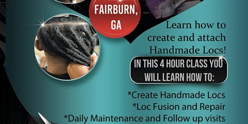 Handmade Human Hair Locing Class
