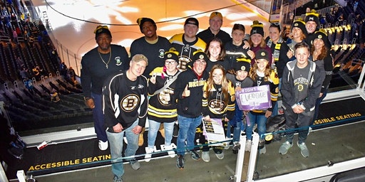 BOSTON BRUINS ALUMNI VS THE GREAT BLIZZ SELECT TO SUPPORT SPECIAL HOCKEY