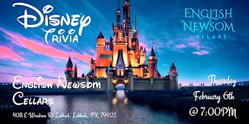 Disney Movie Trivia at English Newsom Cellars