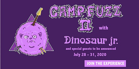 Camp Fuzz with Dinosaur Jr. tickets