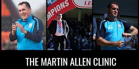 The Martin Allen Clinic In Uxbridge - Football Icon Academy tickets