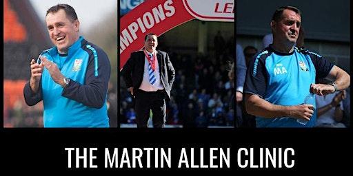 The Martin Allen Clinic In Uxbridge - Football Icon Academy