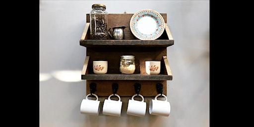 Make It Take It Class: Hanging Coffee Bar