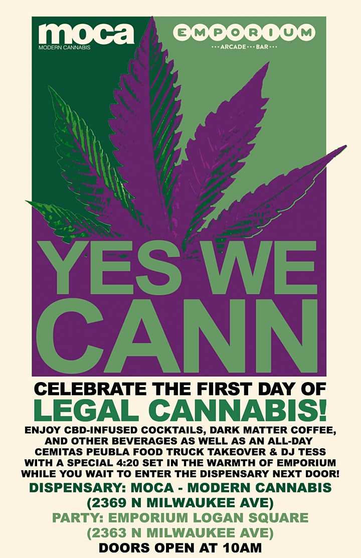 """""""Legalized It!"""" New Year's Day Party image"""