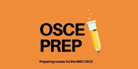 NMC OSCE PREP 3-day intensive course tickets