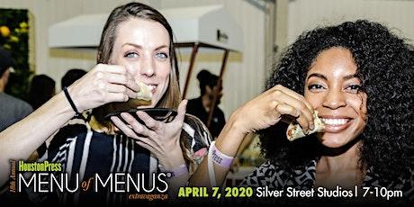 Houston Press Menu of Menus Extravaganza tickets