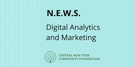 N.E.W.S. | Digital Analytics and Marketing tickets