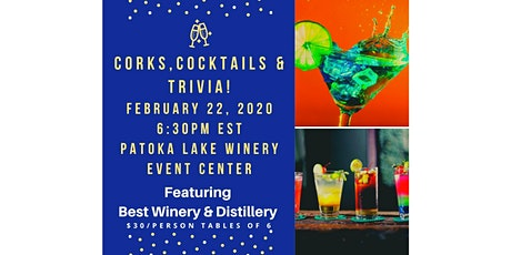 Corks, Cocktails & Trivia Night tickets