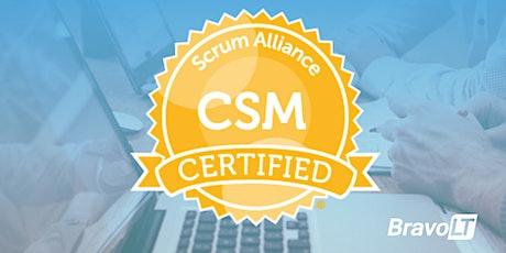 Certified ScrumMaster® (CSM®) Training tickets