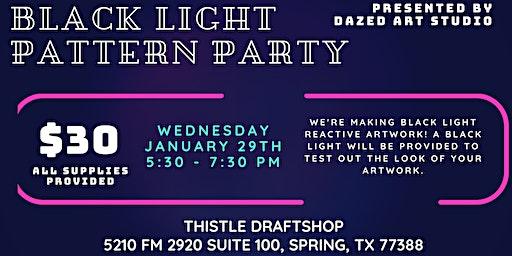 Black Light Pattern Party