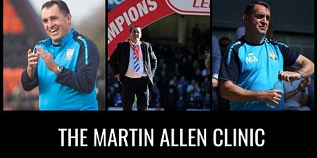The Martin Allen Clinic In Aylesbury - Football Icon Academy tickets