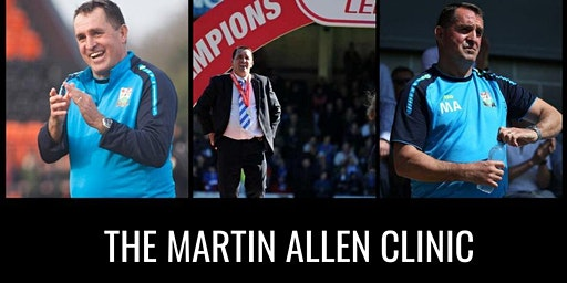 The Martin Allen Clinic In Aylesbury - Football Icon Academy