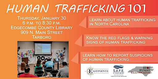 Human Trafficking 101 - Tarboro